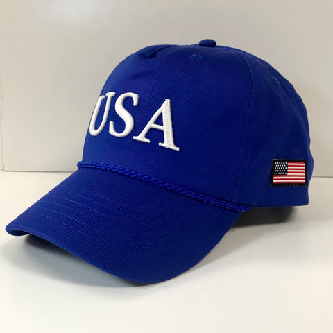 USA Hat in Royal by Logan's