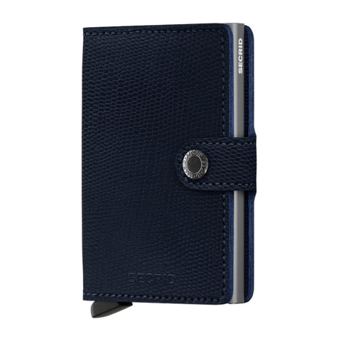 Miniwallet in Rango Blue-Titanium by Secrid