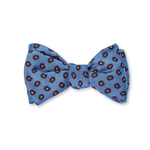 Richmond Pine Bow Tie in Blue by R. Hanauer