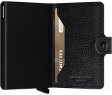 Miniwallet in Veg Black-Black by Secrid