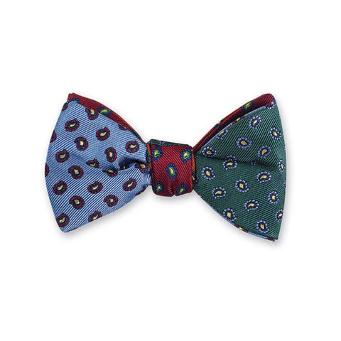 Richmond Pine Bow Tie in Multi-Color by R. Hanauer