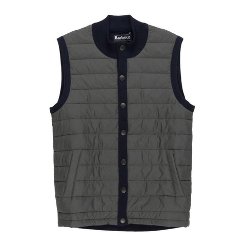Essential Gilet in Navy by Barbour