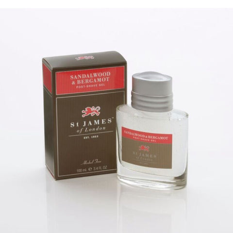 Sandalwood & Bergamot Post Shave Gel by St. James of London