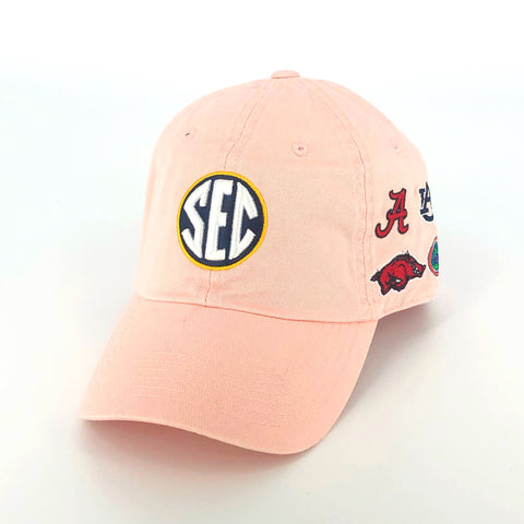 SEC Hat in Pink by Top of the World