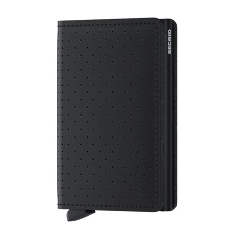 Slimwallet in Perforated Black by Secrid