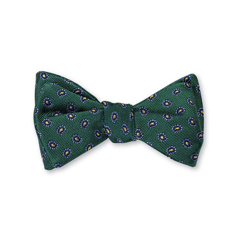 Richmond Pine Bow Tie in Green by R. Hanauer