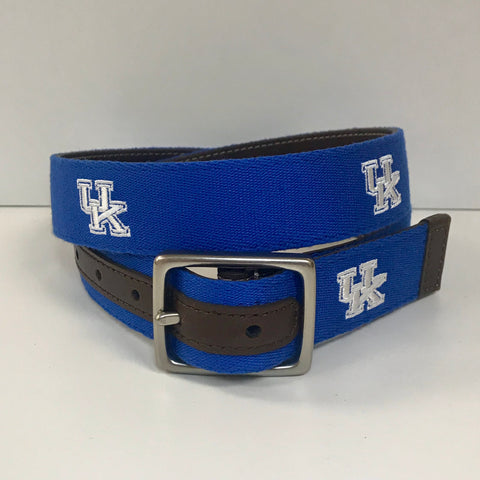 Alumni Reversible Belt on Blue by Jack Mason