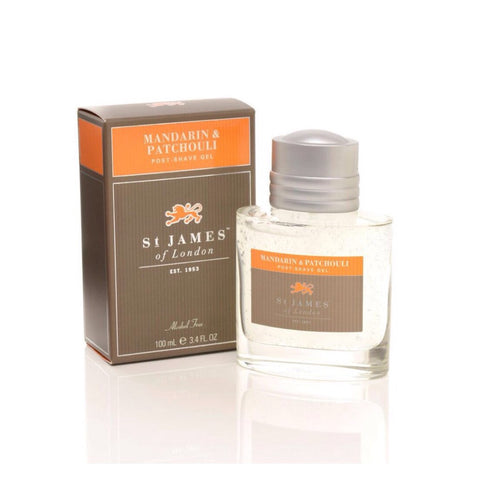 Mandarin & Patchouli Post Shave Gel by St. James of London