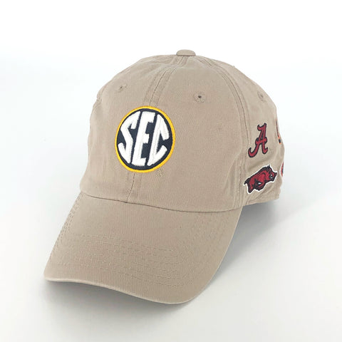 SEC Hat in Khaki by Top of the World