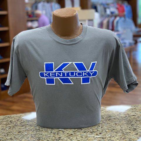 KY Short Sleeve Tee in Grey by Logan's