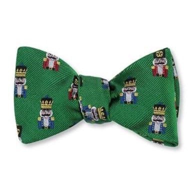 Green Nutcracker Bow Tie by R. Hanauer