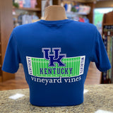 UK Football Short Sleeve Tee in 3 Colors by Vineyard Vines