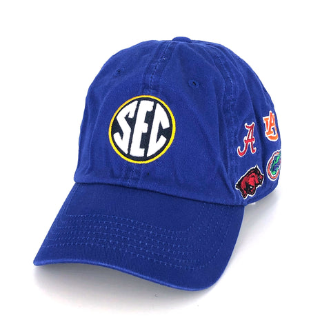SEC Hat in Blue by Top of the World