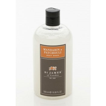 Mandarin & Patchouli Body Wash by St. James of London