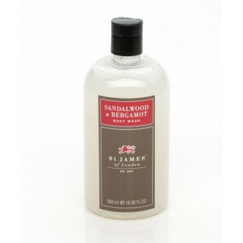 Sandalwood & Bergamot Body Wash by St. James of London