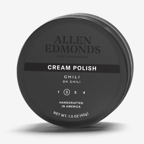 Cream Polish in Black by Allen Edmonds