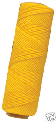 MARSHALLTOWN Building Line 285 FT Yellow Twisted Nylon