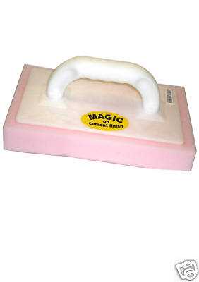 MAGIC Plastering Finish Sponge Float