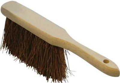 Salmon Brush Stiff Hand 280mm Brown Bassine Banister Dustpan Wooden Stock