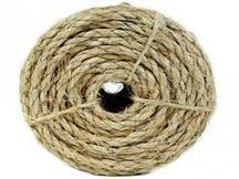 Ramboo Rope String 50ft Organic Sisal Natural Quality Assorted Multi Purpose