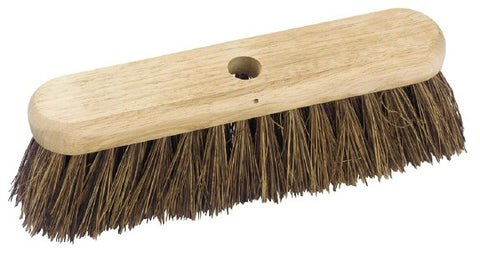 Salmon Broom Brush Head 300mm Brown Bassiene Industrial Household Wooden Stock