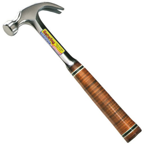 Estwing E16C Curved Claw Hammer Leather Grip 16oz