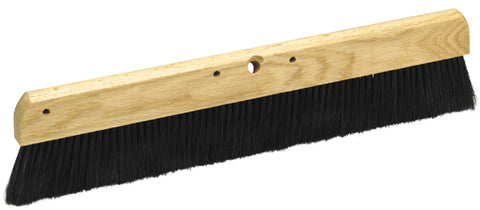 "Marshalltown Concrete Broom Brush 36"" Black Polypropylene Bristles Telescopic"