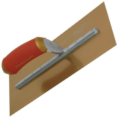 Marshalltown MPB13GSD 13x5-inch Gold Stainless Steel Plastering Trowel