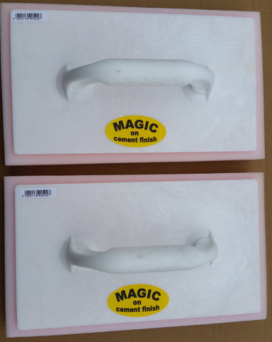 MAGIC Plastering Finish Sponge Float Extra Large x 2