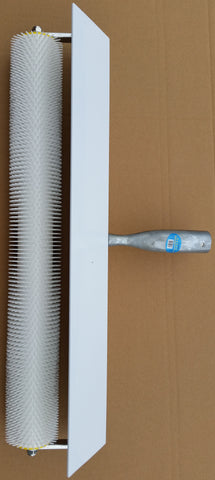 Spiked Aeration Roller 750mm with Splash Guard