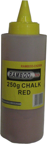 Red Marking Builders Building reel refill chalk dust 250g