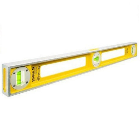 "STABILA 83S 40"" 1M HEAVY DUTY CAST ALUMINIUM GIRDER SPIRIT LEVEL"