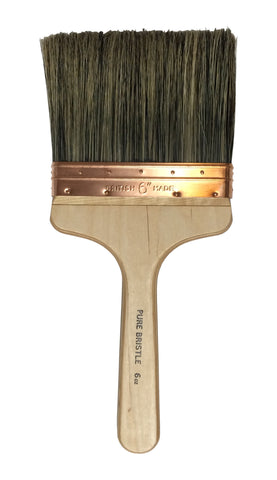 "6"" Plastering Water Splash Brush Pure Bristle"