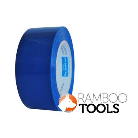 Blue Dolphin Tarp and Stucco Tape Blue - 30 day 48mm x 50m