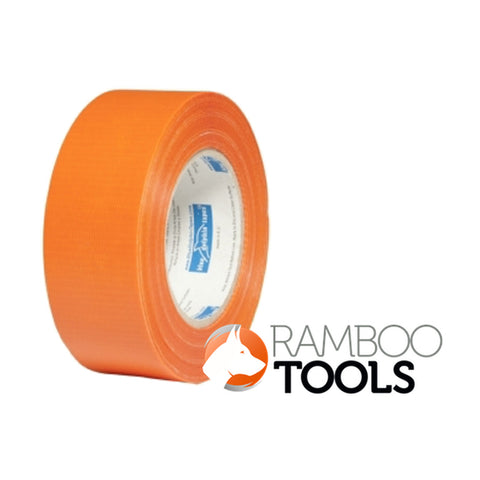 Plaster duct tape for rough surfaces Orange - 48mm x 50m