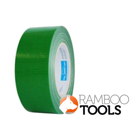 Blue Dolphin exterior duct tape smooth and semi rough surfaces Green - 48mm x 50m