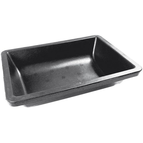 Bricky's heavy duty 35L mortar trough with rounded bottom