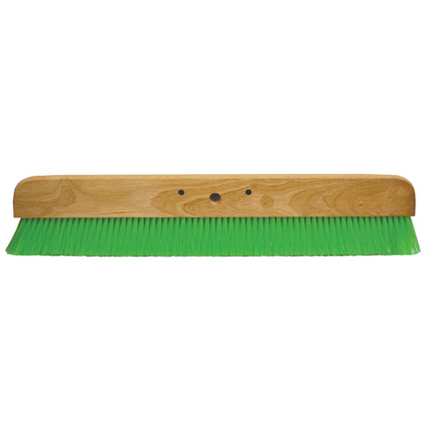 "36"" Green Nylex® Soft Finish Broom"