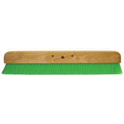 "48"" Green Nylex® Soft Finish Broom"