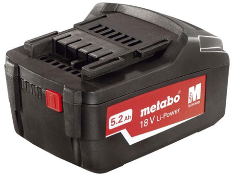 Collomix (Metabo) 18 V, 5.2 Ah, Li-Power battery