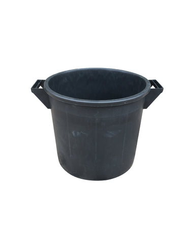 Mr Bucket Man Plasterers Mixing bucket 35L or 1 bag mix Black