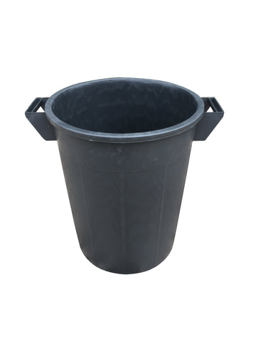 Mr Bucket Man Plasterers Mixing bucket 50L or 2 bag mix Black