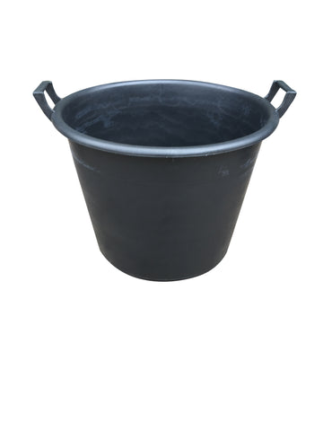 Mr Bucket Man Plasterers Mixing bucket 65L or 3 bag mix Black