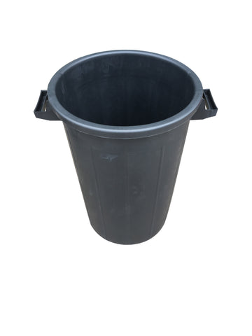 Mr Bucket Man Plasterers Mixing bucket 75L or 3 bag mix Black