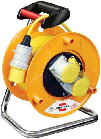 Brennenstuhl Extension Cable Reel 25m 110V Heavy Duty
