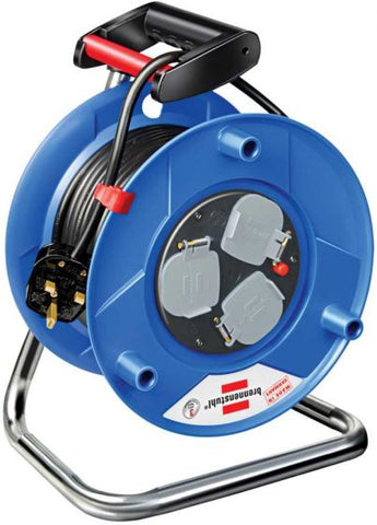Brennenstuhl Extension Cable Reel 20m 240V Heavy Duty