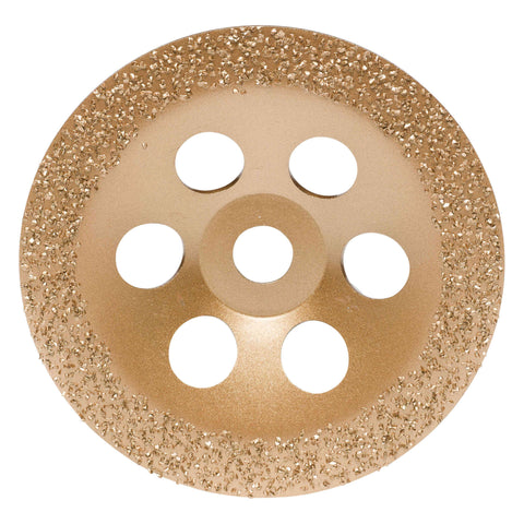 Carbide 24 Grit Grinding flat disc 180x22.2mm