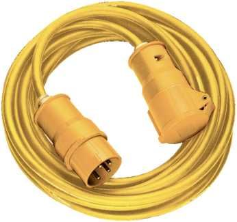 Brennenstuhl 14m Extension Cable 110V Yellow