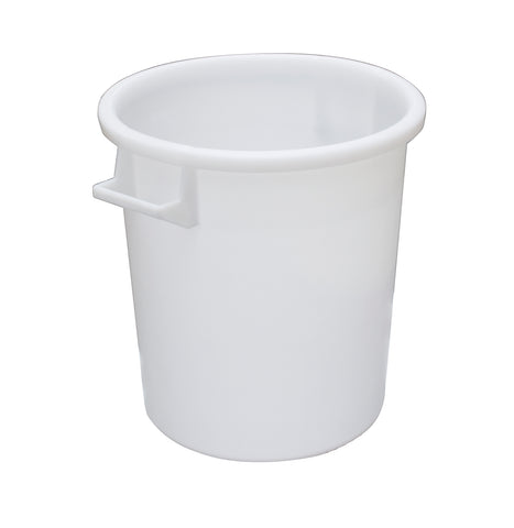 Mr Bucket Man Plasterers Mixing bucket 35L or 1 bag mix White