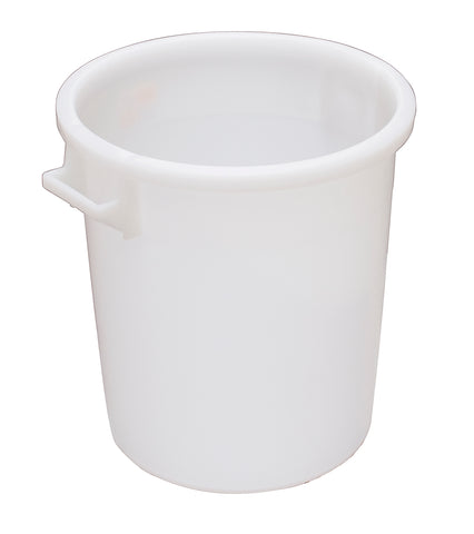 Mr Bucket Man Plasterers Mixing bucket 50L or 2 bag mix White
